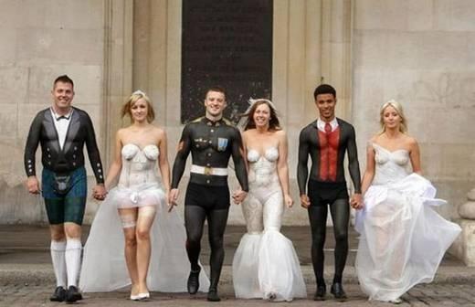 äsja abiellunud